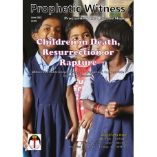 Prophetic Witness PRINT subscription (rest of the world)