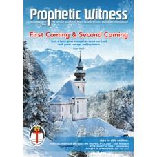 Prophetic Witness PRINT subscription (UK)